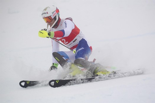 Marco Kohler is 17 and won the gold medal in Alpine Combined U18.