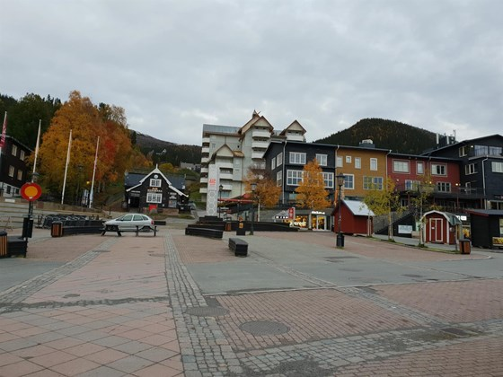 Main square in Åre