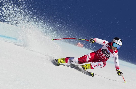 Downhill 23.02.: 2nd Nicole Schmidhofer AUT