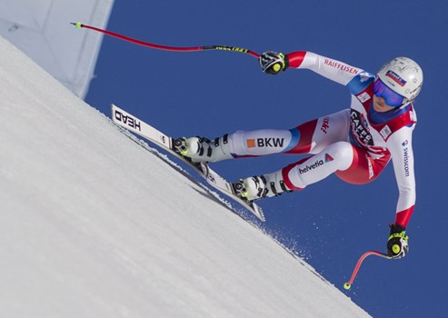 Downhill 22.02.2020 - 2nd Corinne Suter SUI