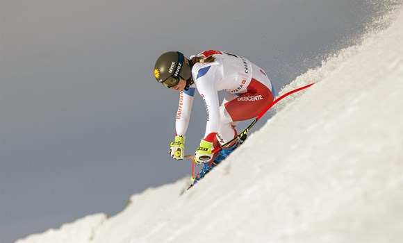 16.02. Super-G - 1re Jasmina Suter SUI