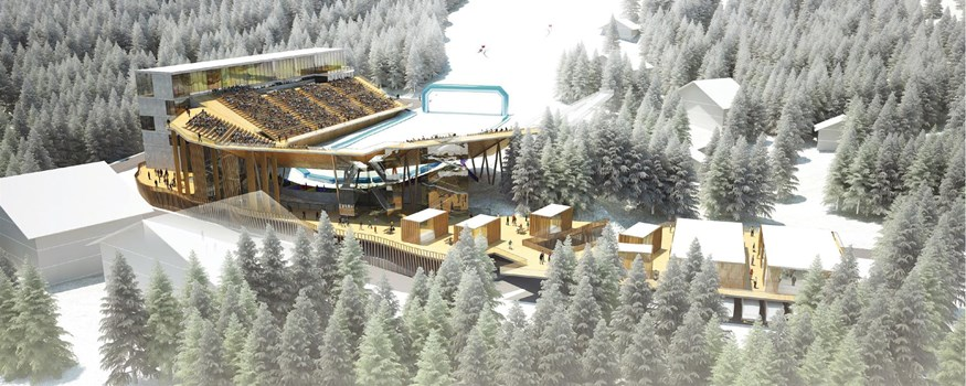 A big project: a multifunctional arena on the Valais Haut-Plateau.